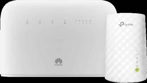 Huawei B715 (kat  9) + TP-Link RE200