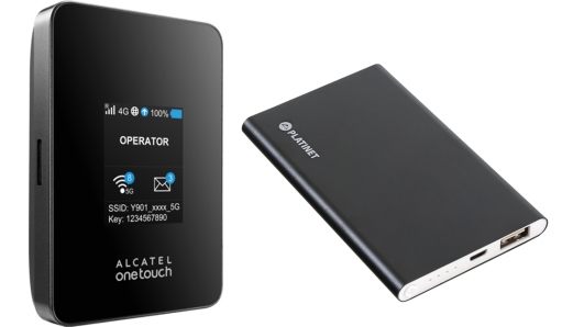 Alcatel Y901 (kat. 6) + powerbank