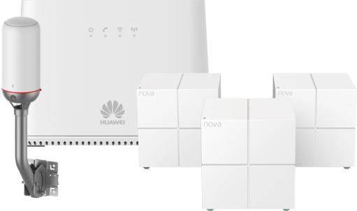 Huawei NET BOX B2368 + Tenda Nova MW6