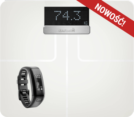 Garmin Vivosmart HR + waga Index