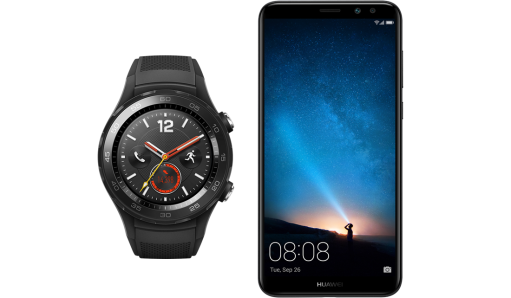Huawei Mate 10 Lite + Watch W2