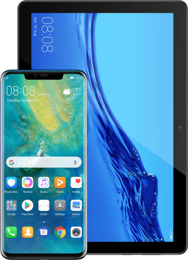 Huawei Mate 20 Pro + Mediapad T5 10 LTE 2/16