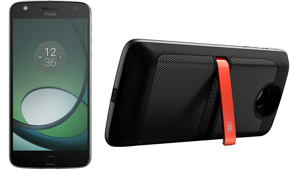 Moto Z + JBL by HARMAN SoundBoost