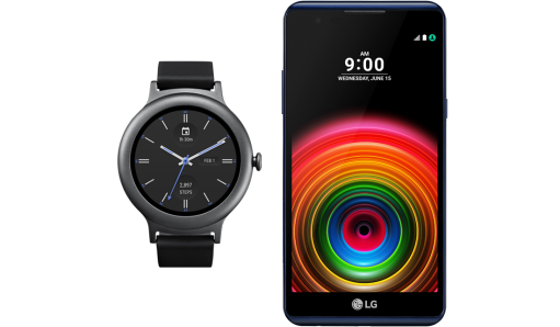 LG X Power + Watch Style