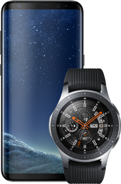 Samsung Galaxy S8 + Galaxy Watch 46mm