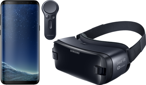 Samsung Galaxy S8 + Gear VR