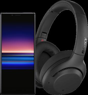 Sony Xperia 1+ słuchawki WH-XB900