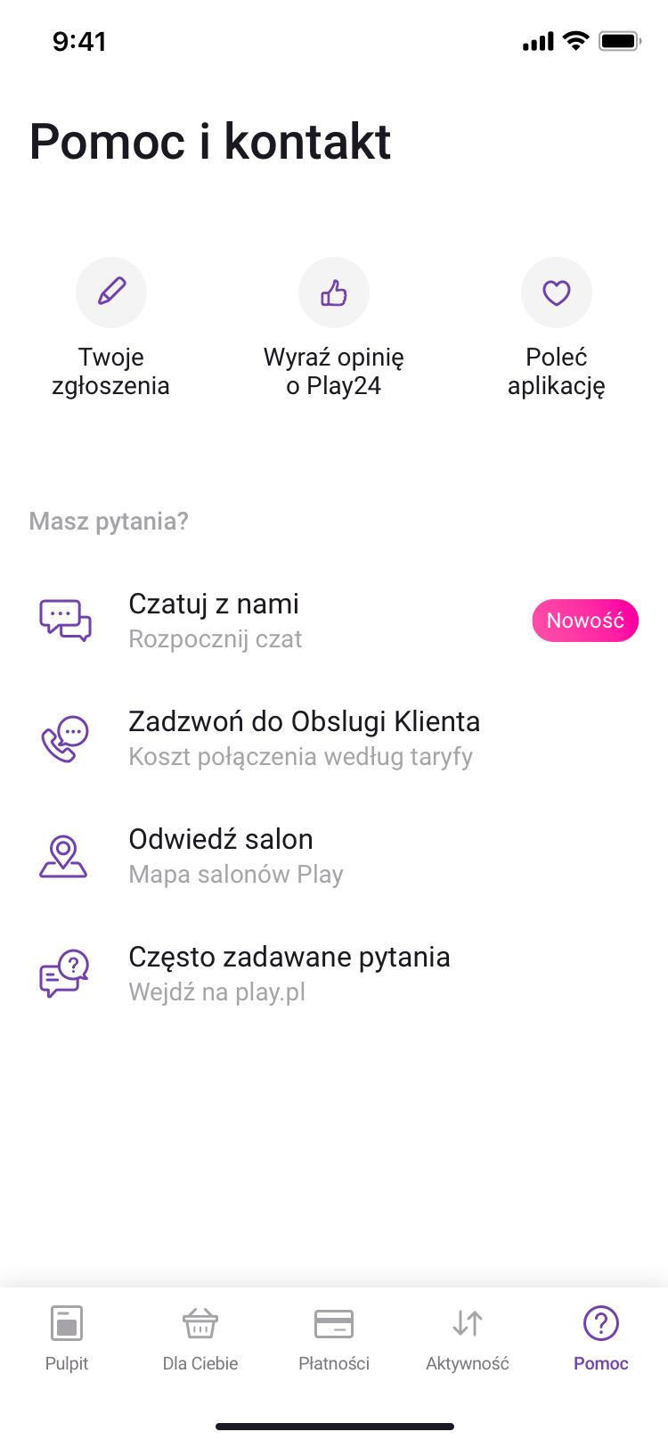 Play24 Kontakt
