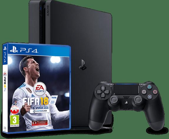 gra fifa 18 oraz playstation 4 plus z padem
