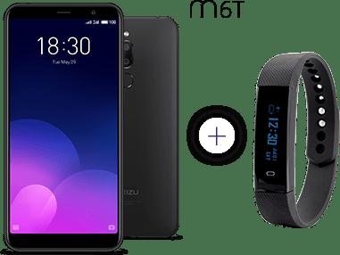 telefon Meizu M6T z opaską FitGo