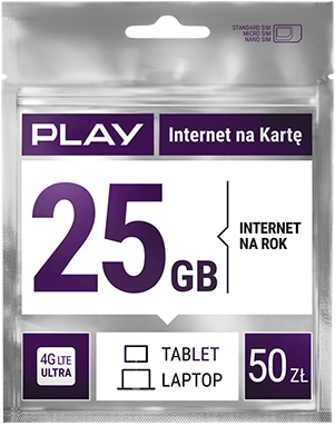 25 GB for one year