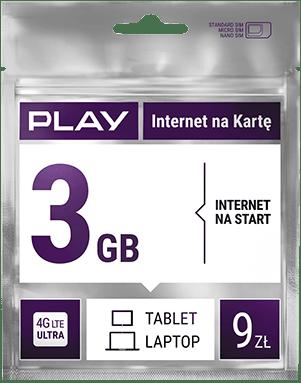 Oferta - Karta - Play Internet na Kartę | Play