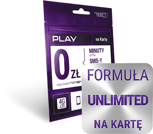 Unlimited Formula - <br>Calls and SMS-s without limit and 6GB of Internet.